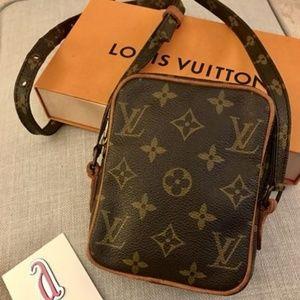 Louis Vuitton Vintage Mono Mini Danube Cross body